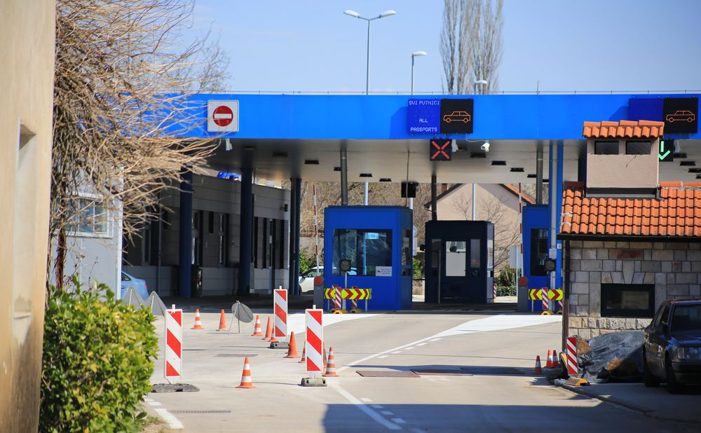 Restrictions on entering croatia