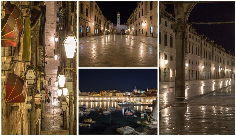 PHOTOS: Dubrovnik, the world's first city to introduce quarantine, in shutdown