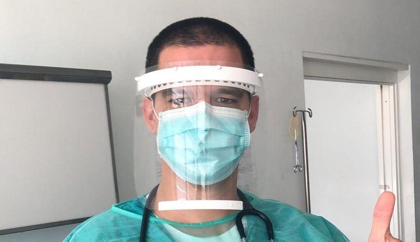 50,000 transparent masks designed by Split student to be produced