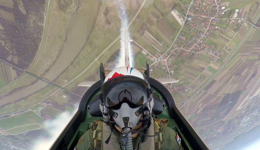 Croatian Air Force aerobatic team gets new attraction