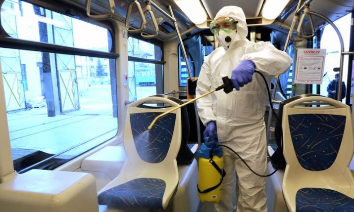 Zagreb to be disinfected as of this weekend