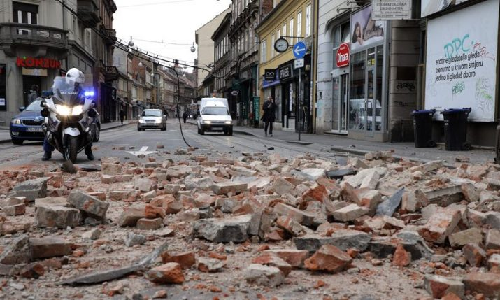 Several aftershocks felt in Zagreb overnight