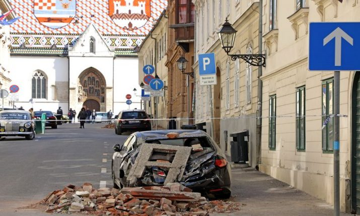 Experts prepare several models to reconstruct quake-damaged buildings in Zagreb