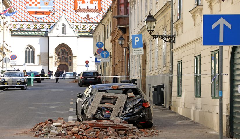 Over 500m Expected From European Solidarity Fund For Post Quake Reconstruction Of Zagreb Croatia Week