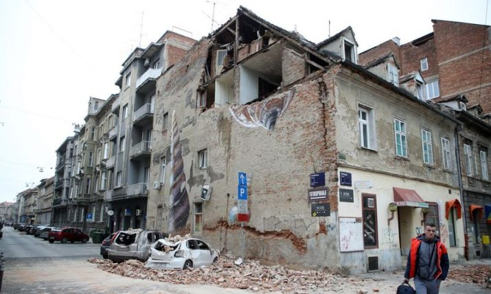 Girl seriously injured in Zagreb earthquake dies