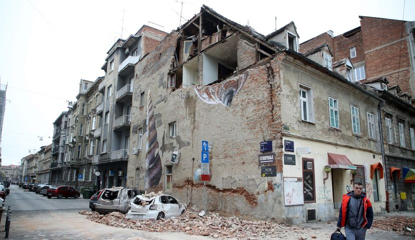 Zagreb earthquake