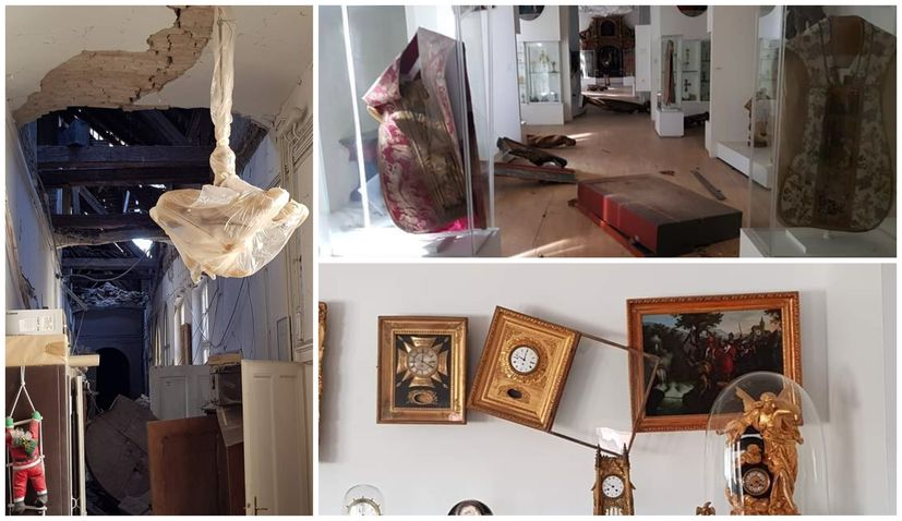 Most of Zagreb's museums damaged by quakes
