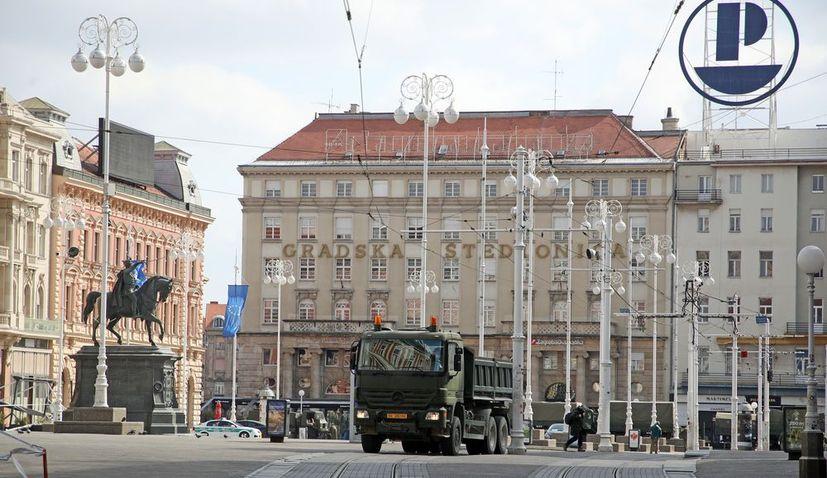 Tremors continue in Zagreb
