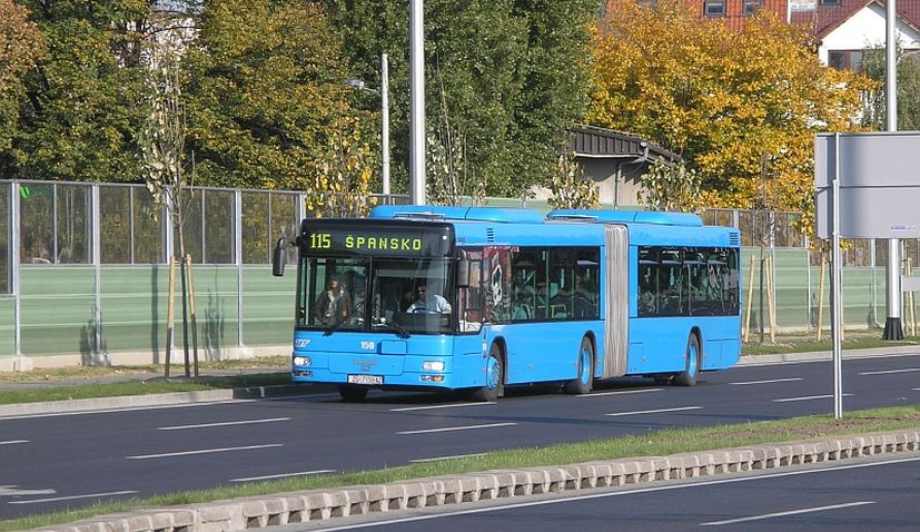 Commuter transport services in Croatia suspended