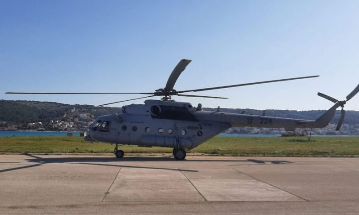 Croatian Army provides 2 helicopters for transport of COVID-19 patients