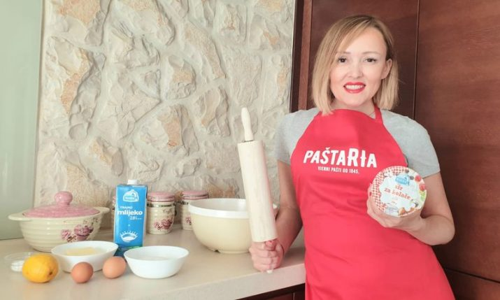 How to make Croatian Easter sweet bread without yeast