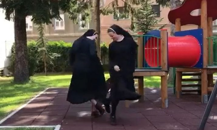 VIDEO: Croatian nuns a hit after accepting dance challenge