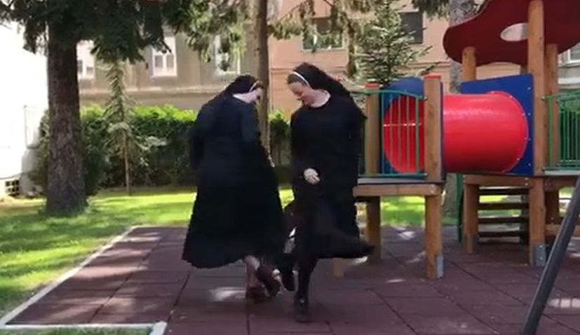 VIDEO: Croatian nuns a hit afteraccepting dance challenge