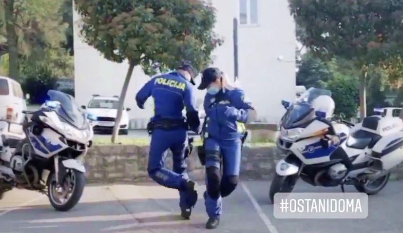 VIDEO: Croatian police dance a hit on social media