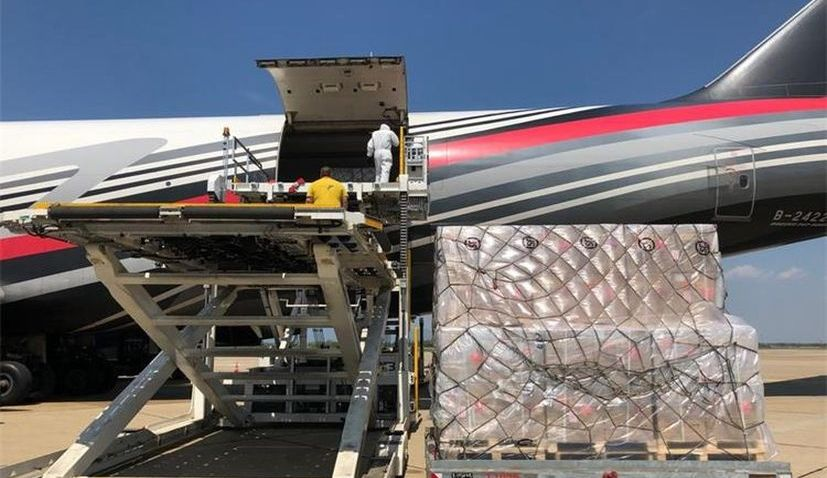 New shipment with 68 tonnes of PPE equipment arrives in Croatia