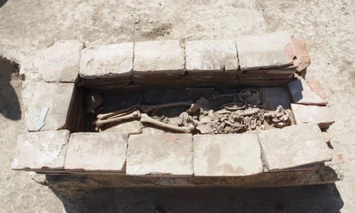 Rare archaeological find from Avar period unearthed in Vinkovci