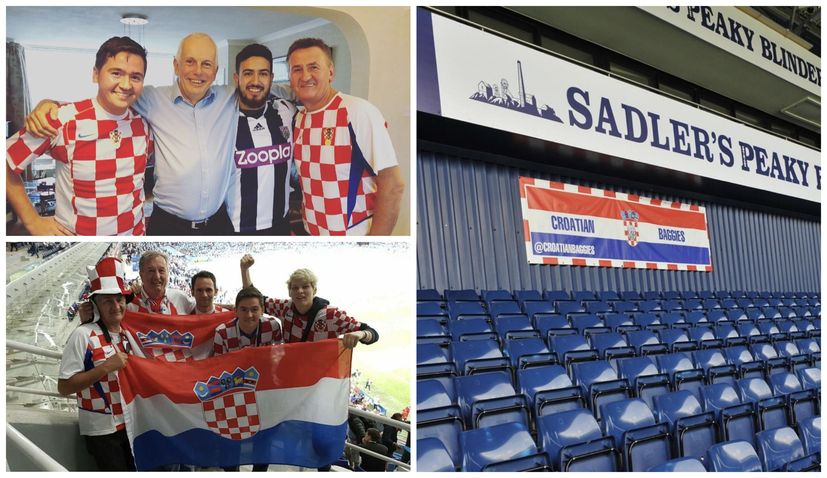 Meet the Croatian Baggies – passionate fans of Slaven Bilic's West Bromwich Albion