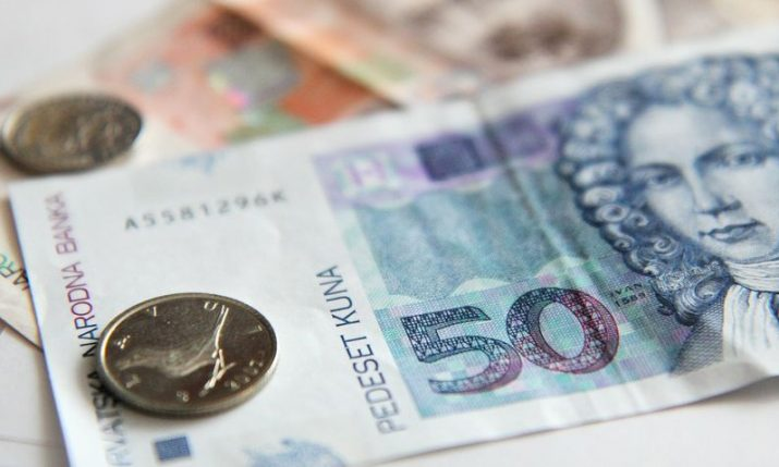 Total deposits held by commercial banks in Croatia increase to HRK 304bn