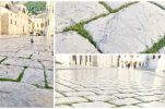 PHOTOS: Grass grows on Dubrovnik's famous stone-paved street Stradun