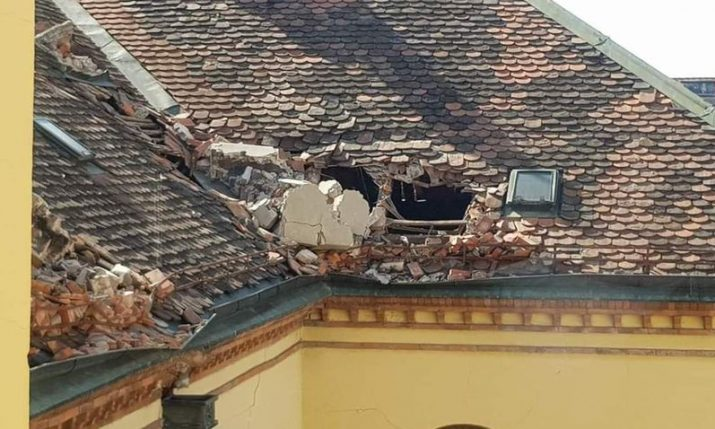 State will co-finance reconstruction of chimneys damaged in Zagreb earthquake