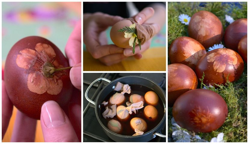 Avoid the Store; dye your Easter Eggs naturally – Croatian style