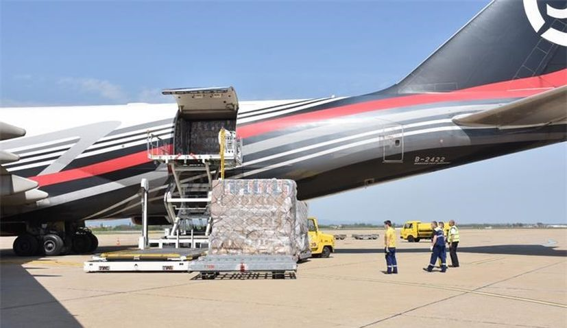 PHOTOS: 70 more tonnes of PPE equipment arrives in Croatia on Sunday from Shanghai