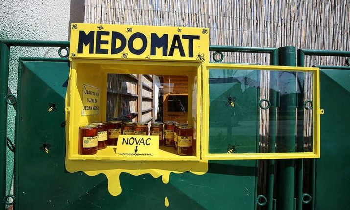 PHOTOS: First medomat in Virovitica