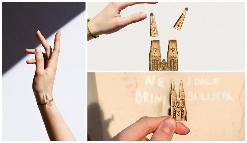 Croatian brand pays homage to damaged Zagreb Cathedral with bracelets