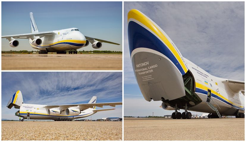 PHOTOS: One of the world's largest commercial cargo aircraft drops into Zagreb