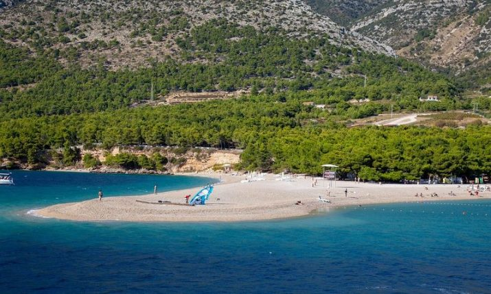 Free movement on island of Brač again, ferry to Makarska re-established