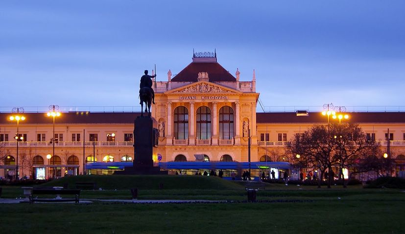 Zagreb Central Station building temporarily closed