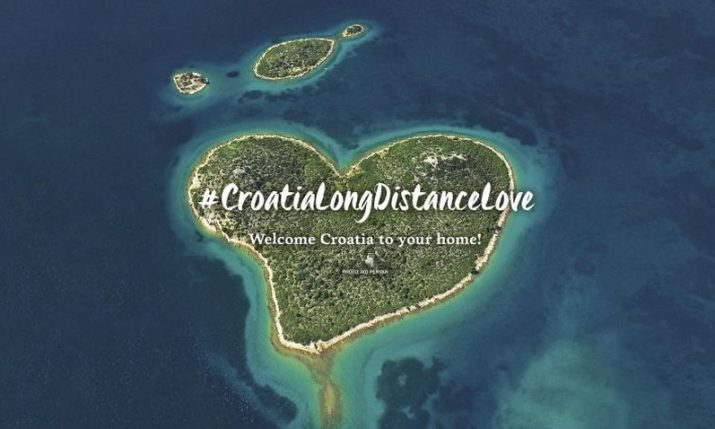 Croatian Tourist Board launches 4 new videos as part of #CroatiaLongDistanceLove concept