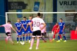 First official football match in Croatia after an 81-day breakplayed