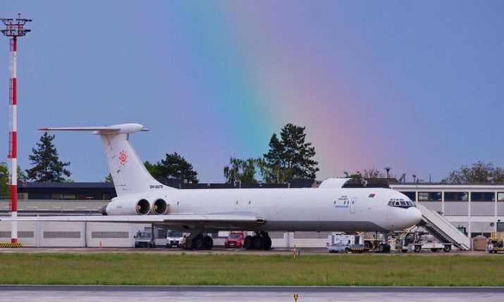 PHOTOS: Rare Ilyushin plane lands at Zagreb airport