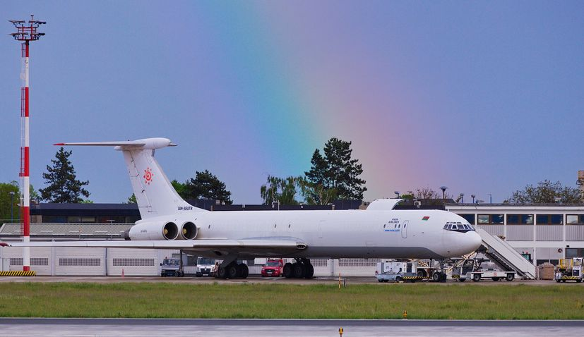 PHOTOS: Rare Ilyushin plane lands at Zagreb airport