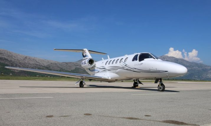 Private jet service and its significance to Croatian tourism