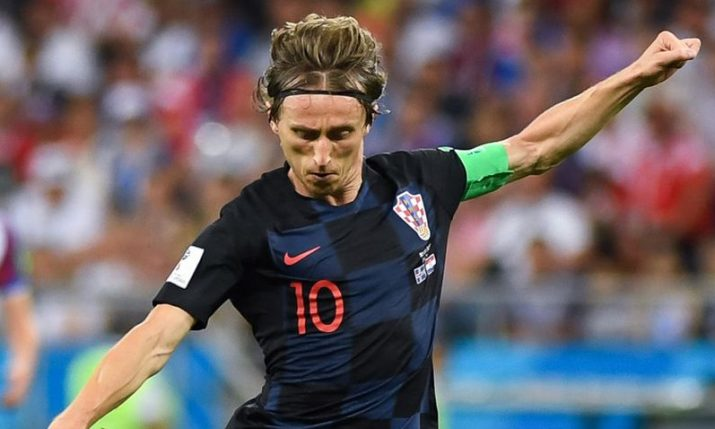 Luka Modric named among 100 best sportsmen of the 21st century