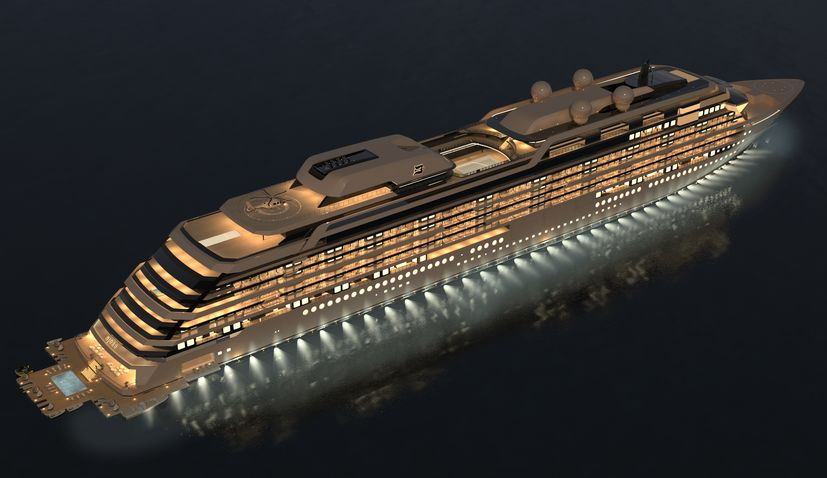 Brodosplit to build world's largest private residence yacht 'M/Y NJORD'
