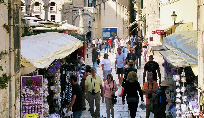 Austrian tourists coming to Croatia