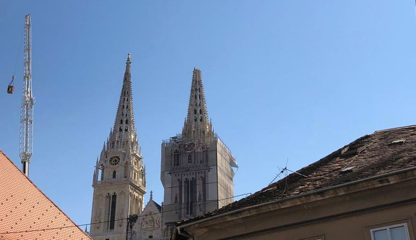 Zagreb Cathedral restoration produces an unexpected discovery