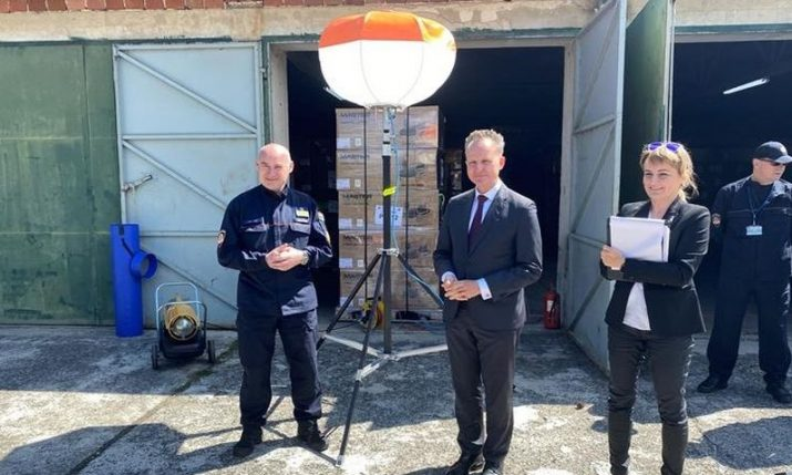 Germany donates €85,000 equipment to Croatia to mitigate quake consequences