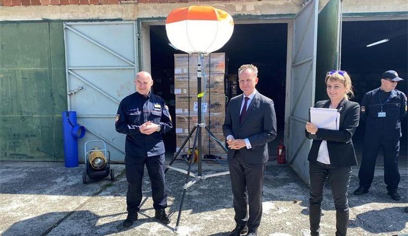 Germany donates €85,000 equipment to Croatia to mitigate quake consequences