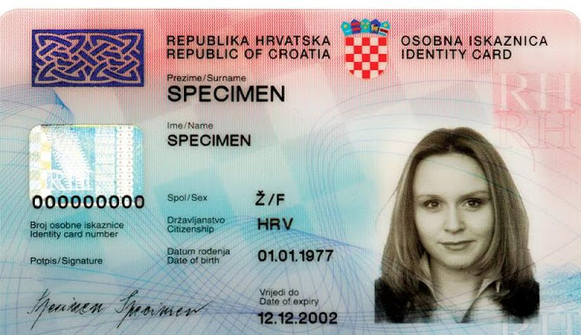 Croatian ID cards to undergo changes