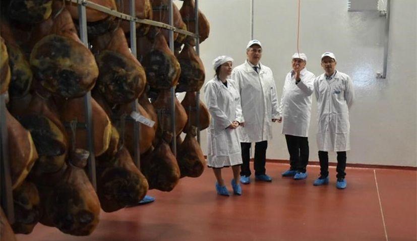 PM visits new pršut processing plant near Vrgorac