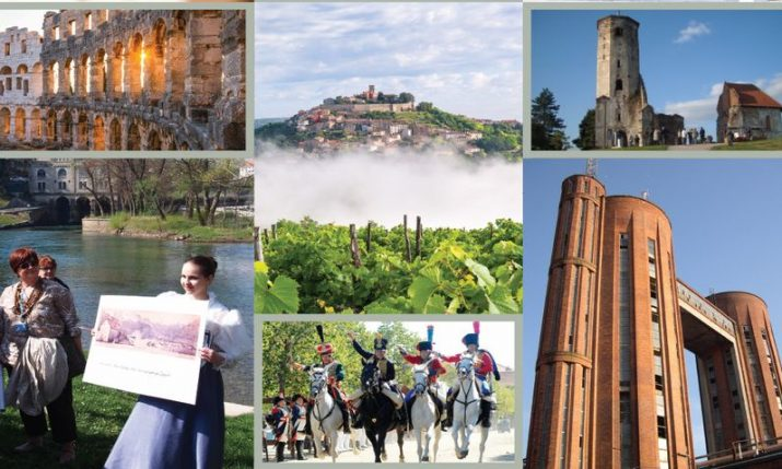 Brochure on 11 Council of Europe cultural routes that pass through Croatia