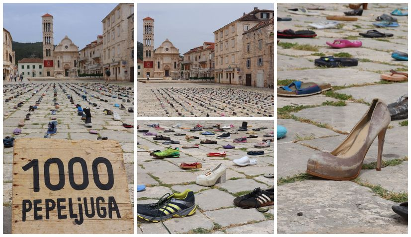 VIDEO: 1000 Pepeljuga – A thousand shoes collected on the beaches of Hvar