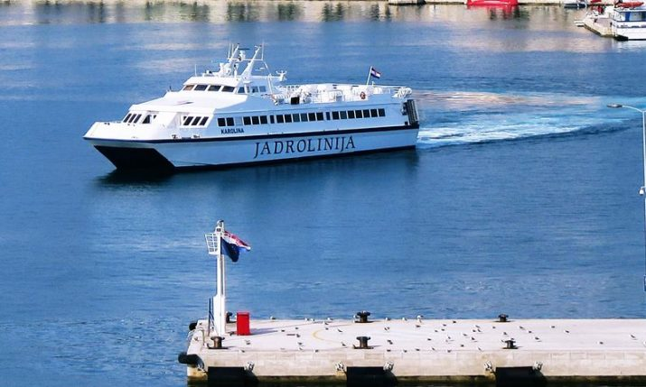 Lastovo-Korčula-Dubrovnik fast ferry to launch for first time