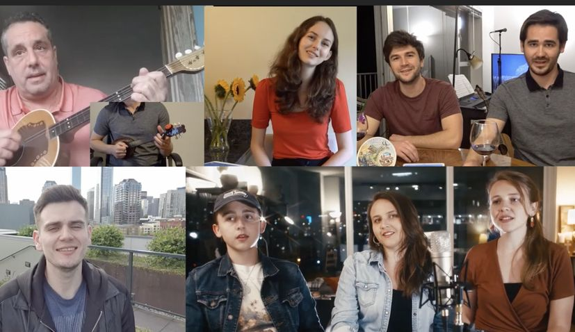 VIDEO: Singers in Seattle cover 'Ne dirajte mi ravnicu'