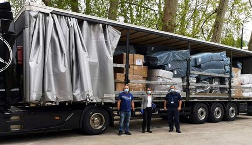 Bosnia and Montenegro receive PPE equipment donated by Croatia