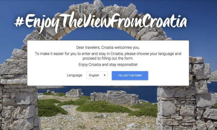 Website to make entry into Croatia easier for tourists launched